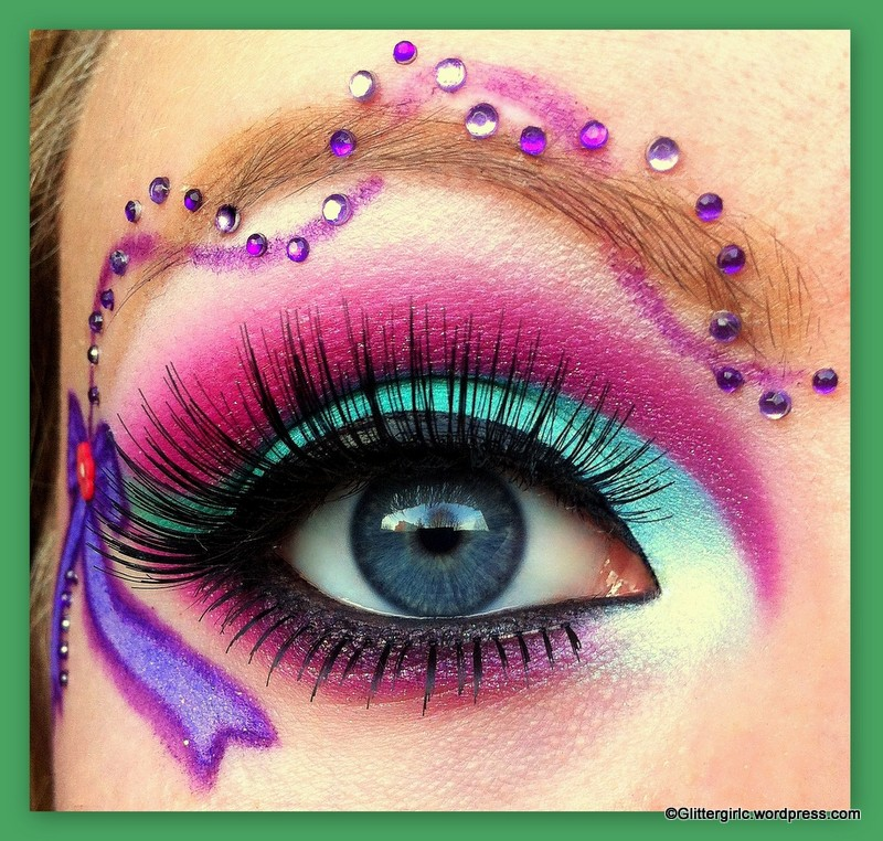 Sugarpill Makeup Look