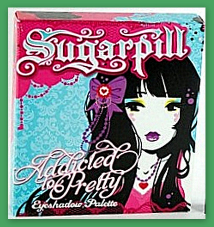Sugarpill palette packaging