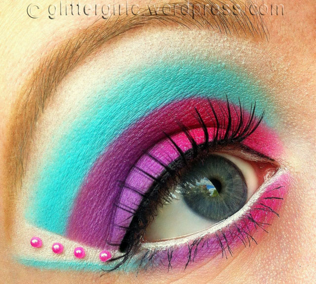 Marie Antionette makeup