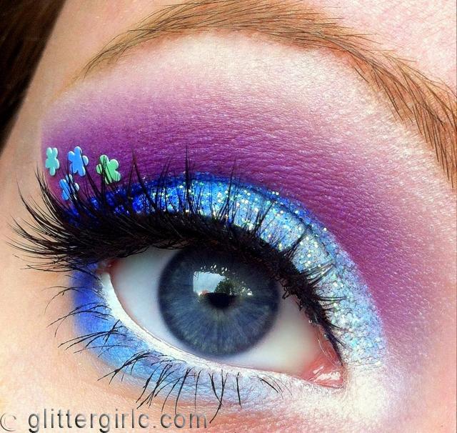 Sparkly Blue flower