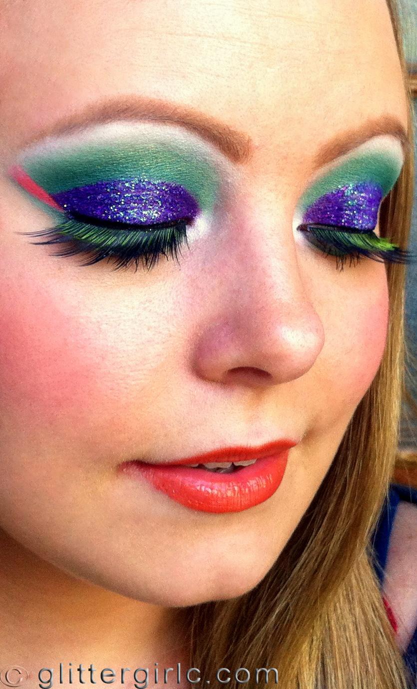 Tropical Bird makeup 2 | GlitterGirlC