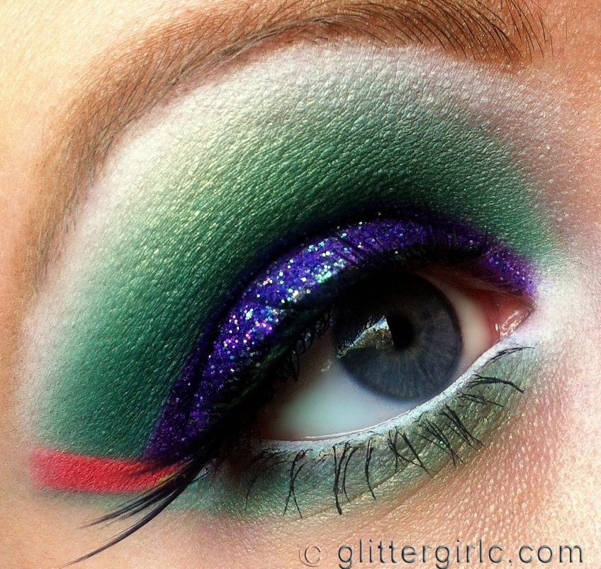 Tropical Bird makeup 3