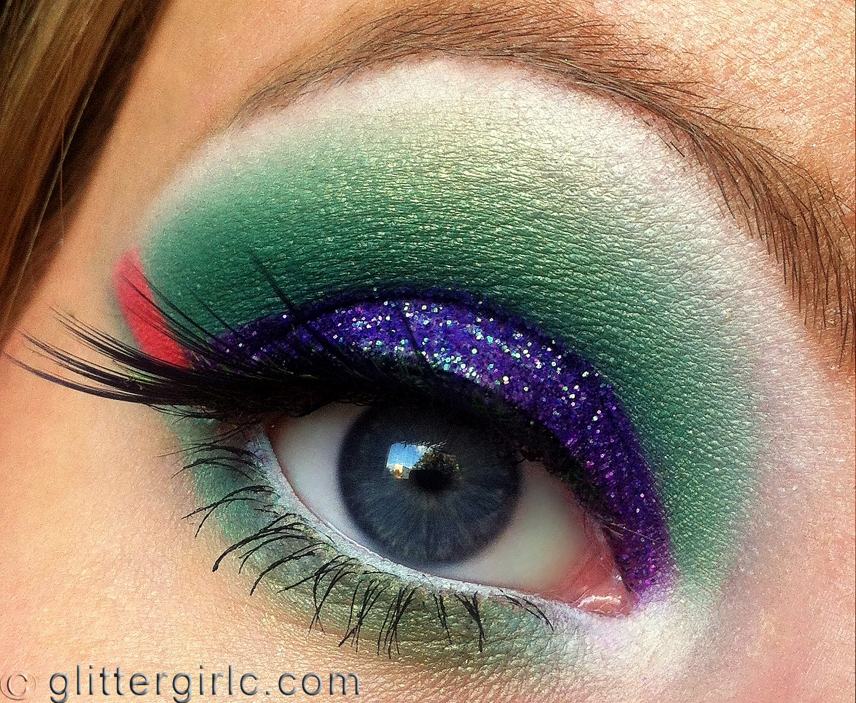 Tropical Bird makeup 4 | GlitterGirlC