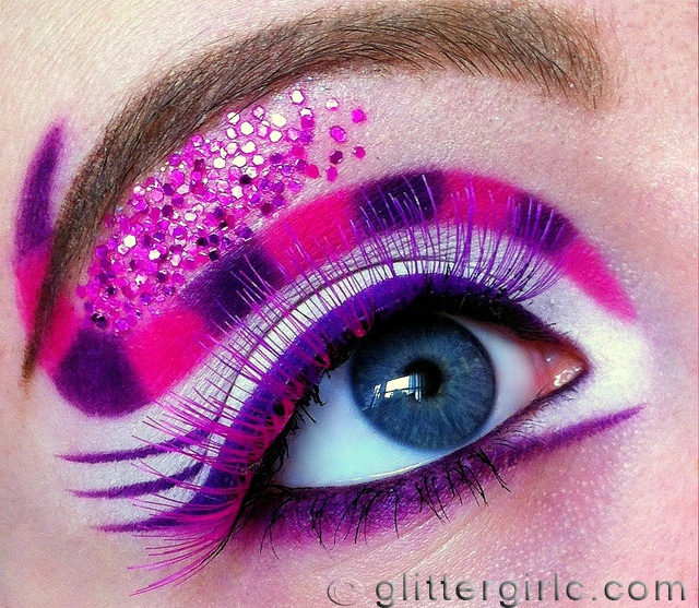 Cheshire cat inspired makeup look 5
