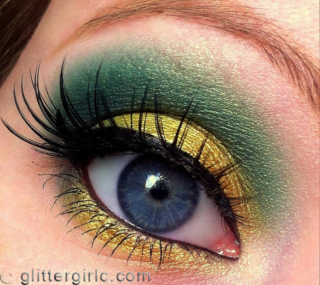 Precious Pear Makeup Geek look