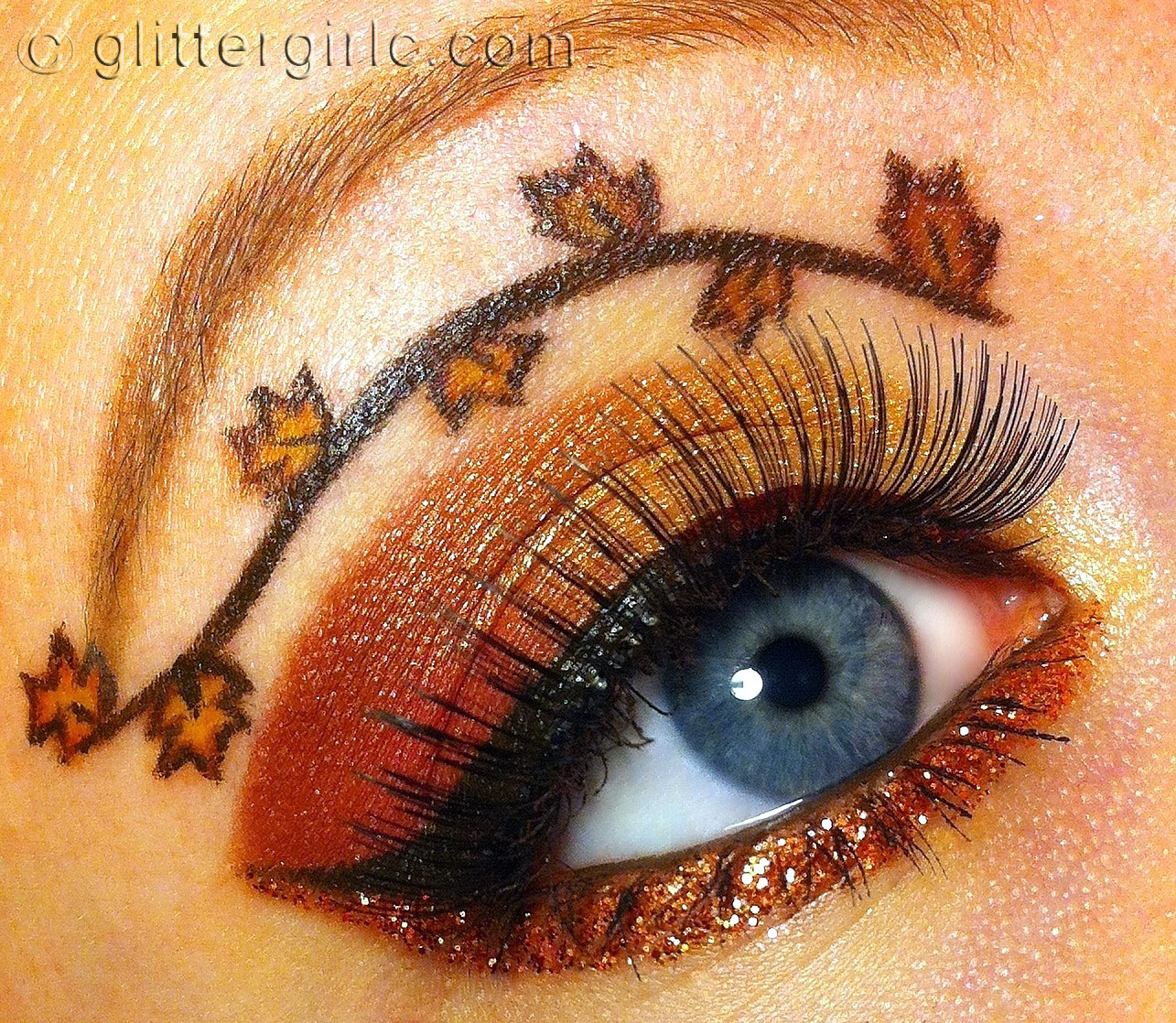 Thanksgiving Makeup :D : GlitterGirlC
