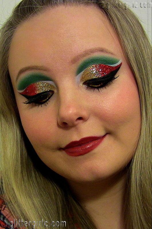 Resultado de imagen para christmas makeup