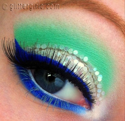Ice Queen Makeup Mint