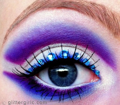 Winter Wonders makeup look