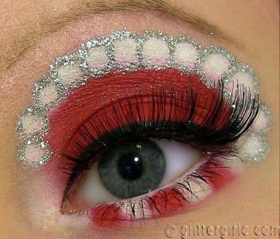 mrs claus christmas makeup