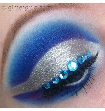 Winter Wonders makeup look pearls sugarpill