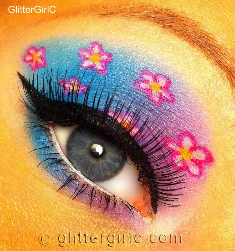 Cherry Blossom Makeup Look! :D