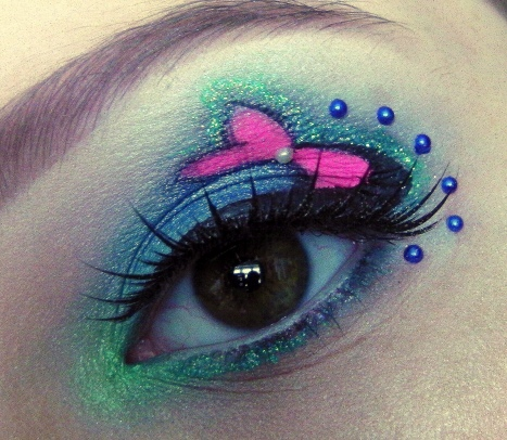 mermaid makeup look shelly
