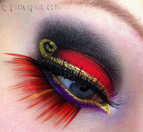 Jafar makeup look