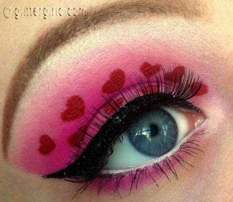 Valentin's day makeup look sugarpill
