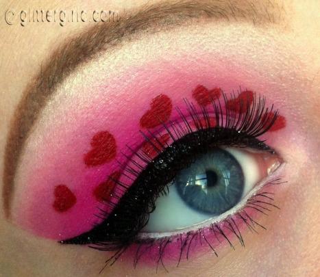 Valentine S Day Makeup D Glittergirlc