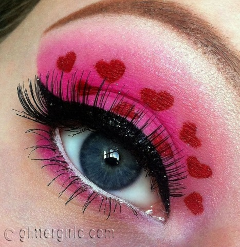 Valentine's day makeup look sugarpill