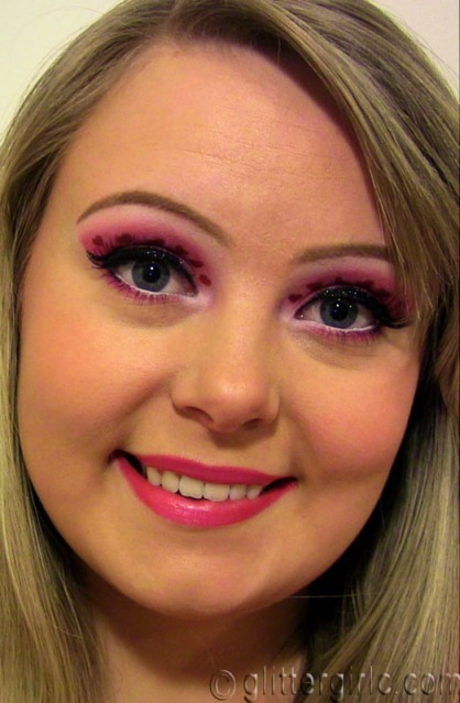 Valentine'a day makeup
