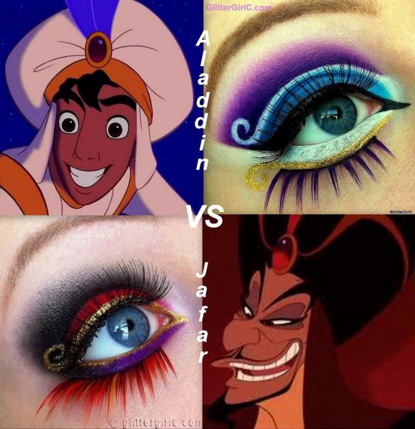 Disney, Good vs. Evil series: Aladdin vs. Jafar. | GlitterGirlC