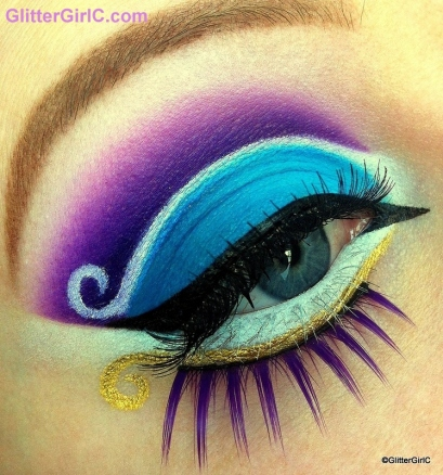 Aladdin makeup look