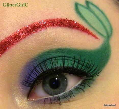 Ariel makeup look