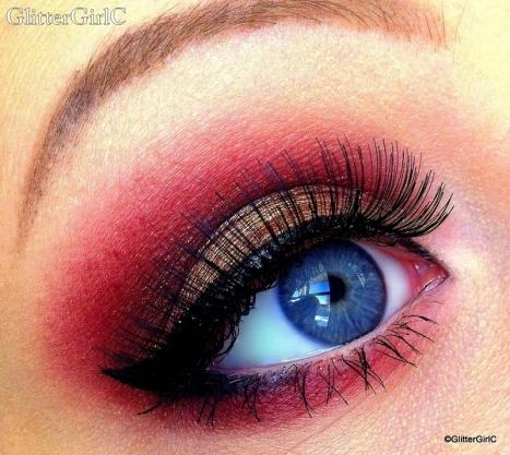 moi cosmetics look