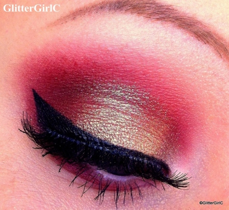 moi cosmetics makeup look