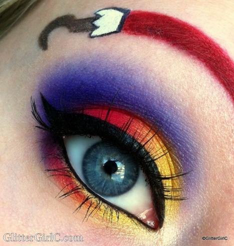 Captain Hook makeup
