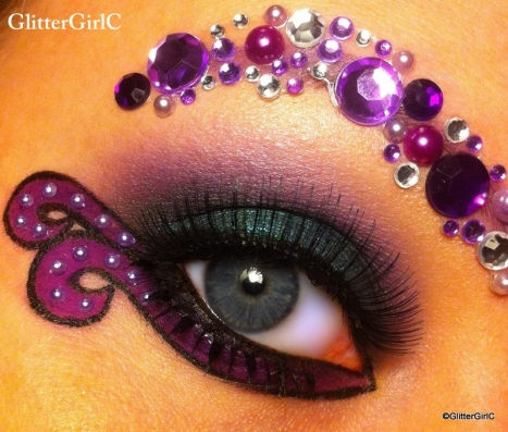 Ursula makeup ferdig