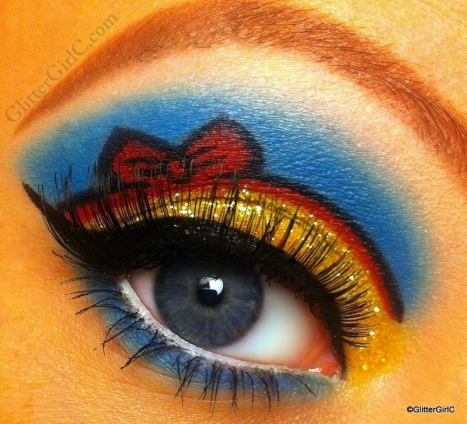 Snow white makeup