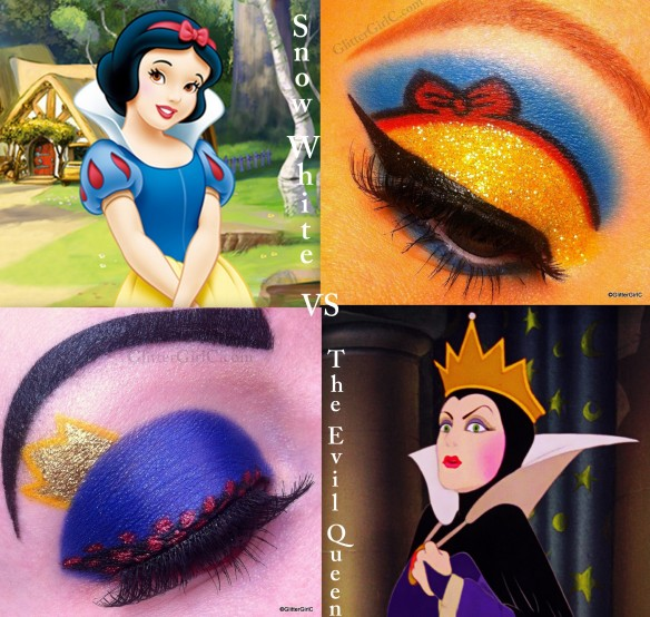 Snow white vs Evil Queen makeup