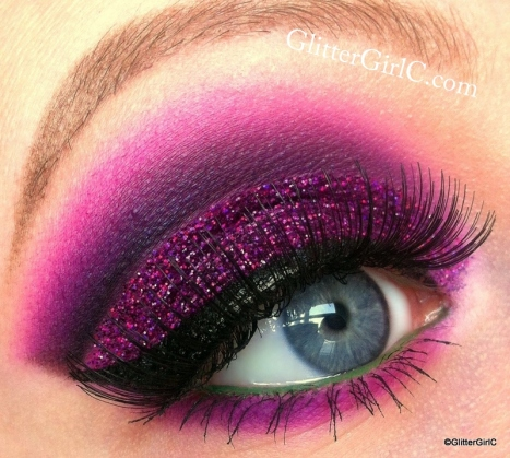 Wicked stepmother makeup look