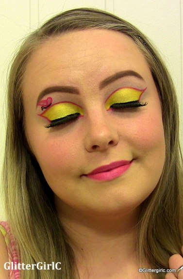 Fluttershy makeup look