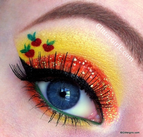 Applejack makeup