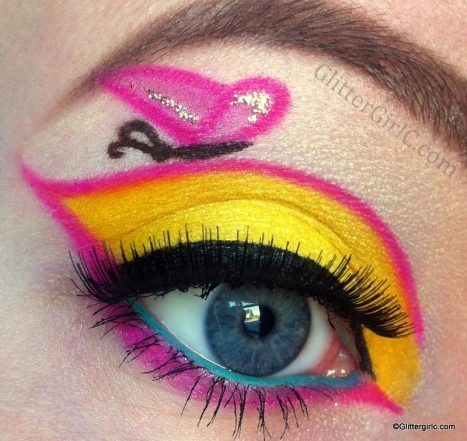 My Little pony Fluttershy makeup