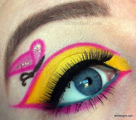 MLP Fluttershy makeup