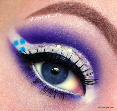 Rarity makeup look my little pony