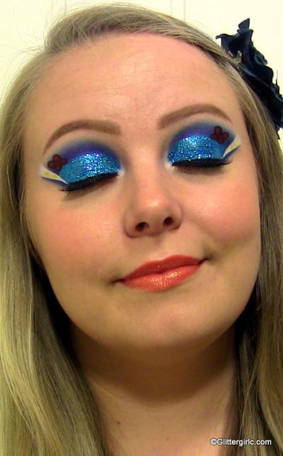Donald Duck makeup
