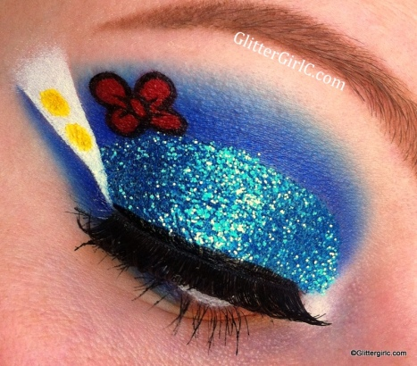Donald Duck makeup tutorial