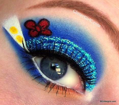 Donald Duck makeup