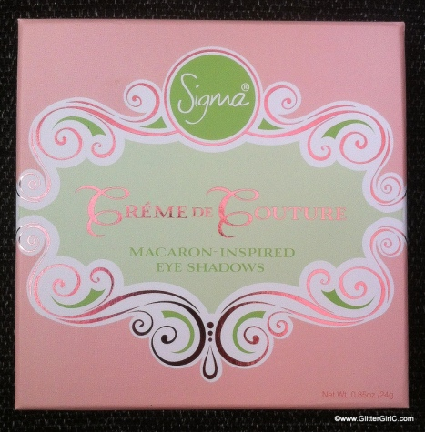 Sigma Créme de couture eyeshadow palette