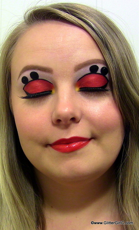 Mickey Mouse Makeup Look   GlitterGirlC