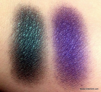 subterranean and elemental chaos swatches cold chemistry sugarpill