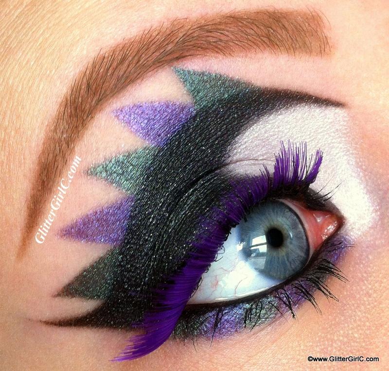 sugarpill cold chemistry makeup look : GlitterGirlC