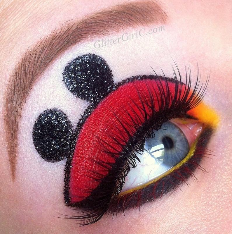 Mickey Mouse Makeup! :D : GlitterGirlC