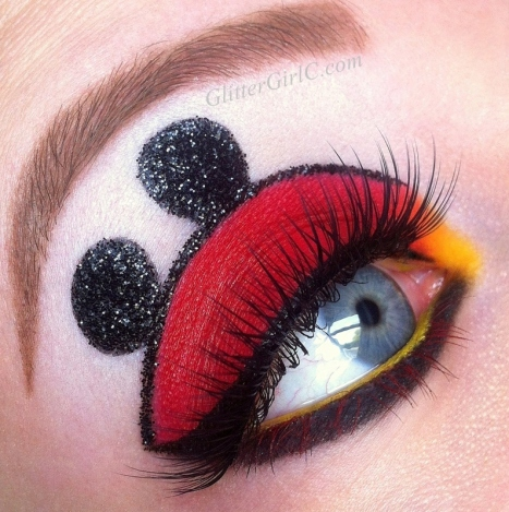Mickey mouse makeup