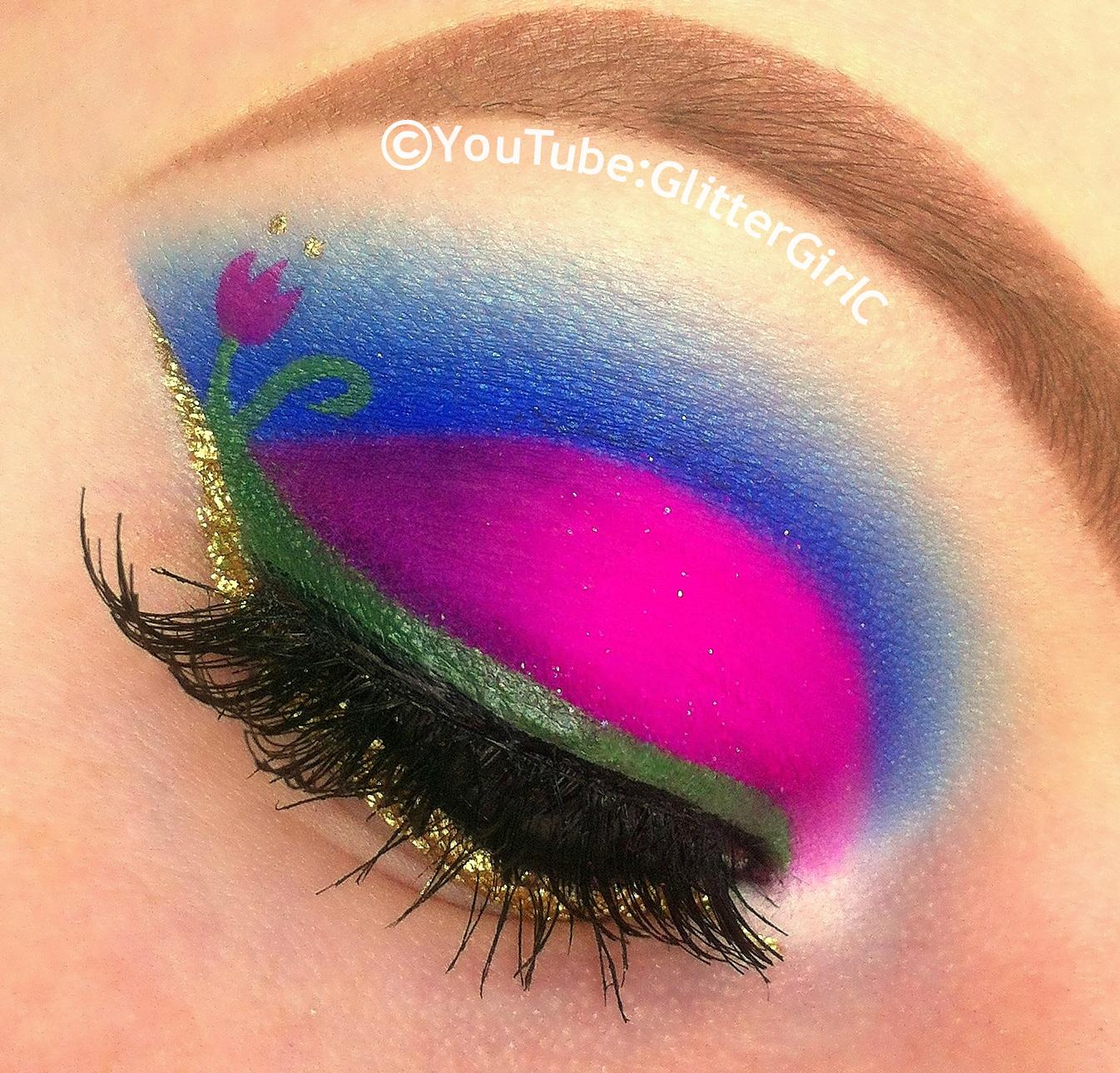 Disney princess anna makeup look glittergirlc disney princess anna makeup frozen baditri Image collections