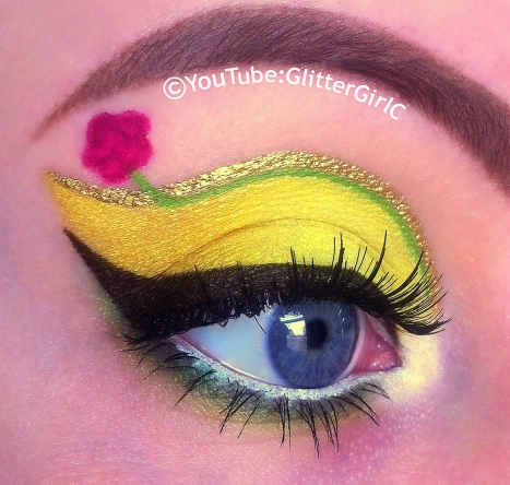disney princess belle makeup