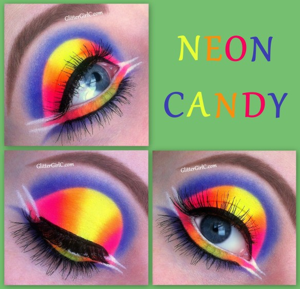 Neon lunatick look CANDY
