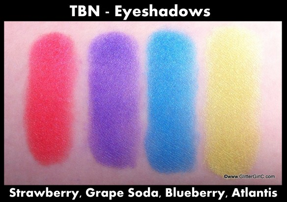 TBN Eyeshadows 2